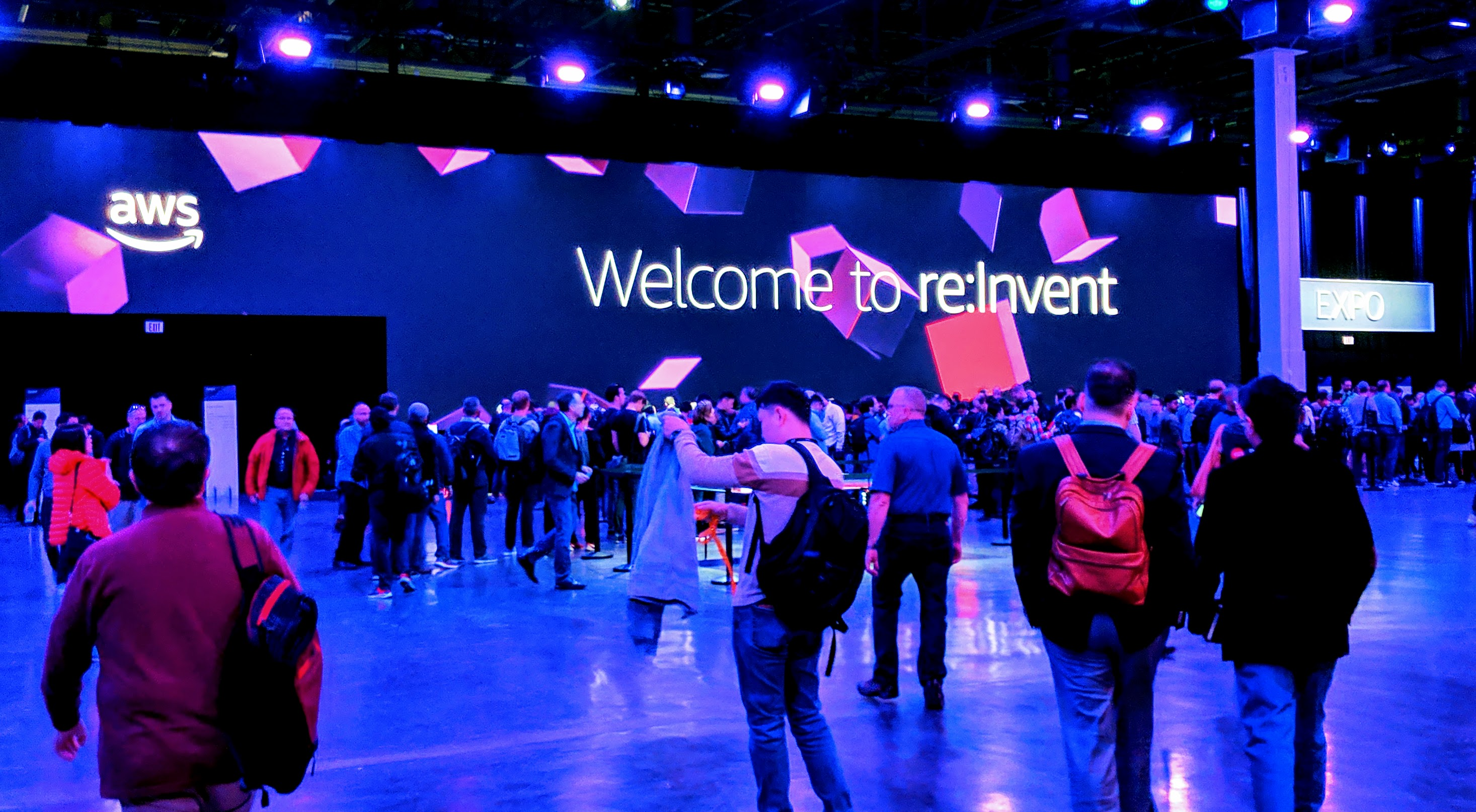 AWS re:Invent welcome